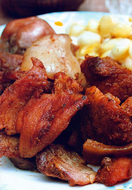 Chicharrón Cochabambino Recetas De Cochabamba Recetas Cocina Y Comida Boliviana